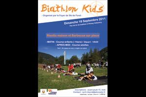 Affiche - Le Biathlon Kids à Peisey-Vallandry