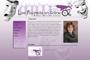 Site internet - Les Pougonts en Scène