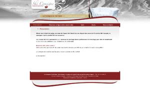 Site internet Ski Consigne