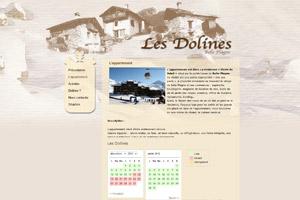 Site internet - Les Dolines