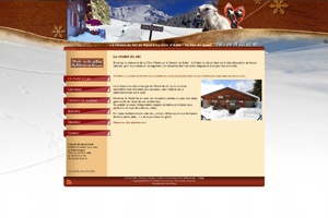 Site internet - Chalet du ski de fond
