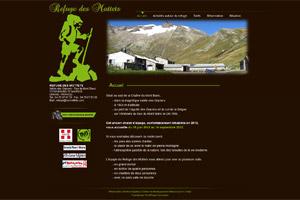 Site internet - Refuge des Mottets