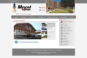 Site internet - Mairie de Macôt La Plagne