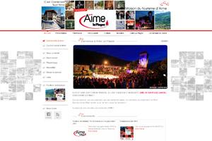 Site internet - Maison du Tourisme Aime