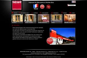 Site internet - Menuiserie Bérard