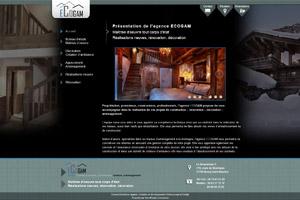Site internet - Agence ECOGAM