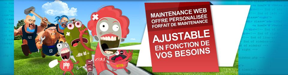 Forfait de maintenance pour votre site internet - Agence web et communication en Savoie : Créalp