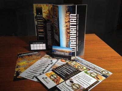 Communication restaurateurs : menus, cartes de fidélité, flyers