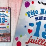 Créalp célèbre la Fête Nationale à Aime-La-Plagne