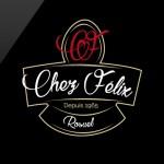 Un logo à la carte pour le restaurant Chez Félix