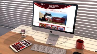 Site web des Transports Chavoutier