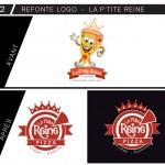 Créalp retrace le logo de La P'tite Reine