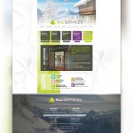 Page d'accueil du site All Services