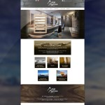 Page d'accueil du site de Alp Agence