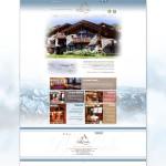 Page d'accueil du site du Chalet Bella-Comba