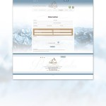 Formulaire de réservation sur le site du Chalet Bella-Comba