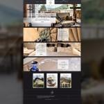Page d'accueil du site de La Belle Joséphine