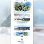 Page d'accueil du site du camping du Bioley