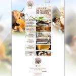 Page d'accueil du site de la Coopérative de Haute Tarentaise