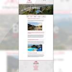 Page d'une commune sur le site de La Plagne Tarentaise
