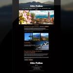 Page d'accueil du site du Gite Pollen
