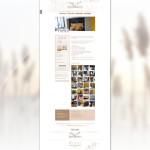 Page des chambres du site Le Mas Montredon