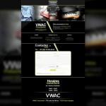 Page d'accueil du site de VWAC